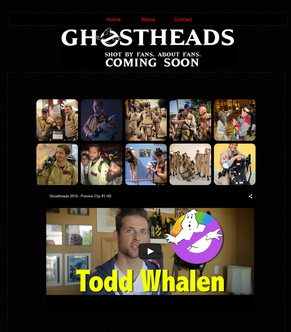 Home Page www.ghostheadsmovie.com
