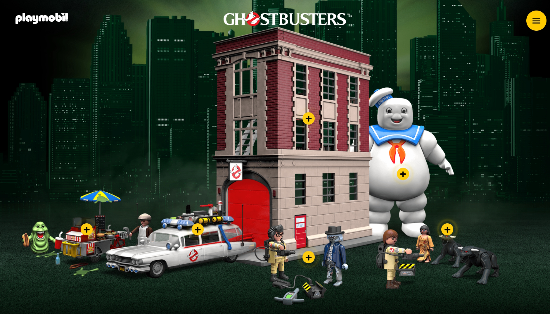 sound the alarm the playmobil ghostbusters are on the hunt for ghosts ghostbusters mania. Black Bedroom Furniture Sets. Home Design Ideas